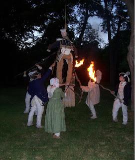 Revolutionary War Camp at Night Event