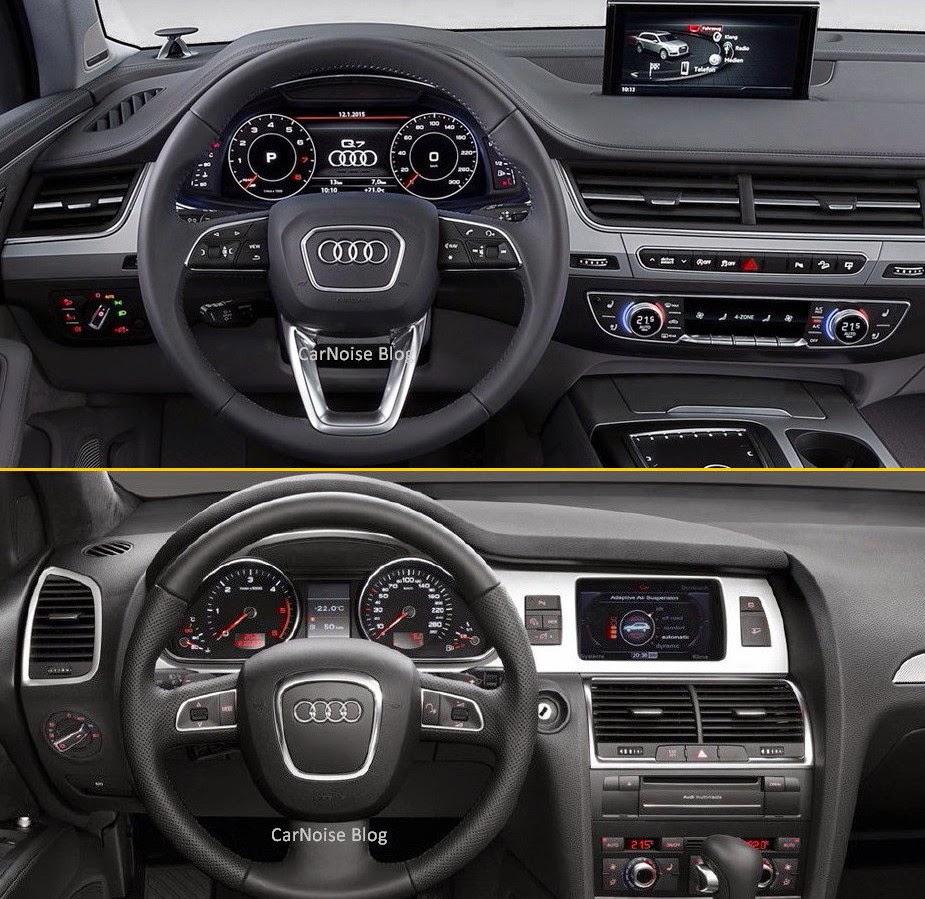 Audi Q7 Photos Interior: Comparison: Audi Q7 New Vs Old - How Different