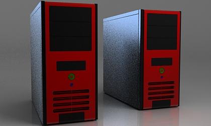 PC case 3d model free