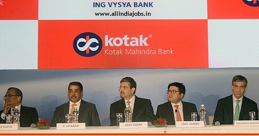 kotak mahindra bank india careers