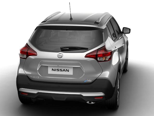 Nissan Kicks SL CVT (Automático) 2018 - Prata