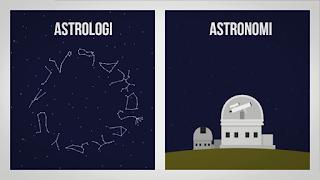 Perbedaan Astrologi dengan Astronomi