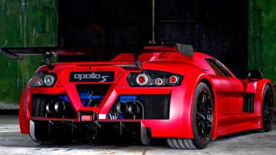 Les voitures les plus rapides du monde - Gumpert Apollo (225 Mph)