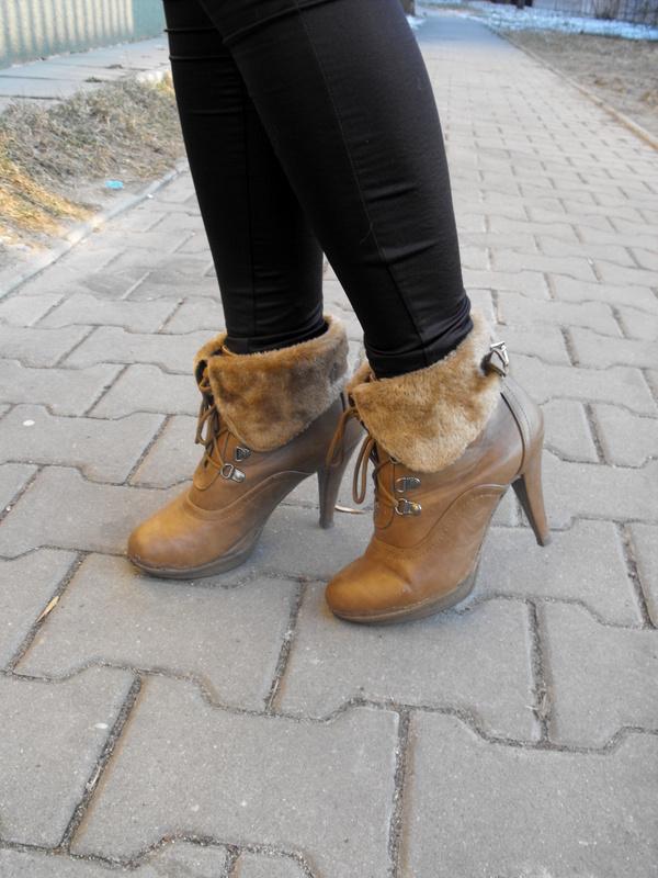 botki na szpilce na zimę