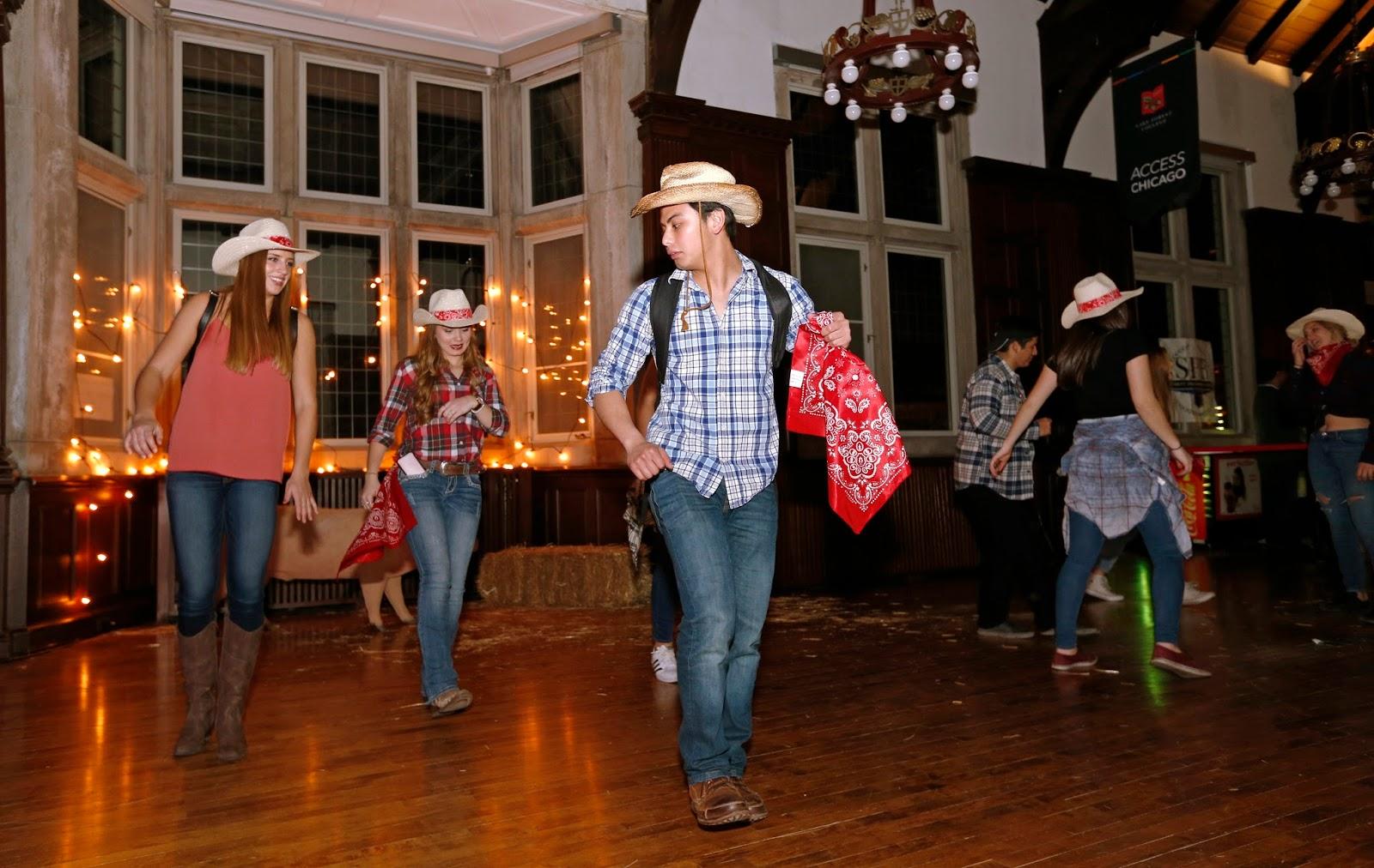 Mark Kodiak Ukena Lake Forest College Barn Dance