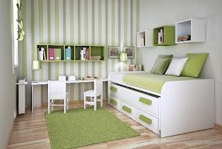 camera da letto ordinata immagine