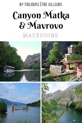 Infos pratiques, conseils et retours d'expérience sur ma visite du canyon Matka et du parc national Mavrovo en Macédoine. #tips #Macedonia