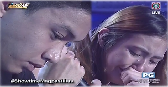 Lorenzo 'Enzo' and Pastillas Girl get emotional It's Showtime