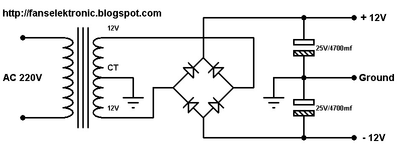 Power Supply Trafo Step Down
