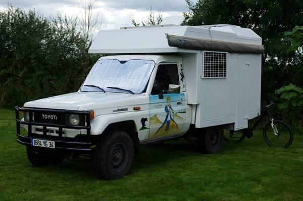 1988 Toyota Land Cruiser BJ75 Adventure Camper