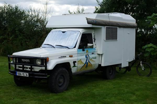 1988 Toyota Land Cruiser BJ75 Adventure Camper