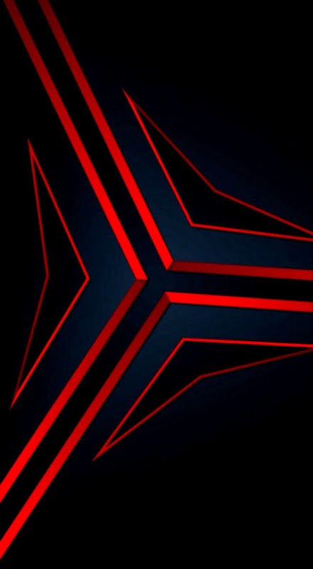 Abstract Red Cool Wallpaper