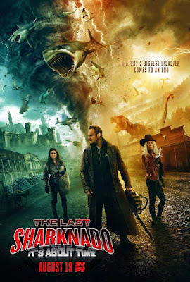 The Last Sharknado It's About Time 2018 Custom HD Spanish
