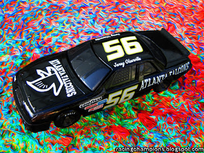 Jerry Glanville #56 Atlanta Falcons Racing Champions 1/64 NASCAR diecast blog NFL coach BGN