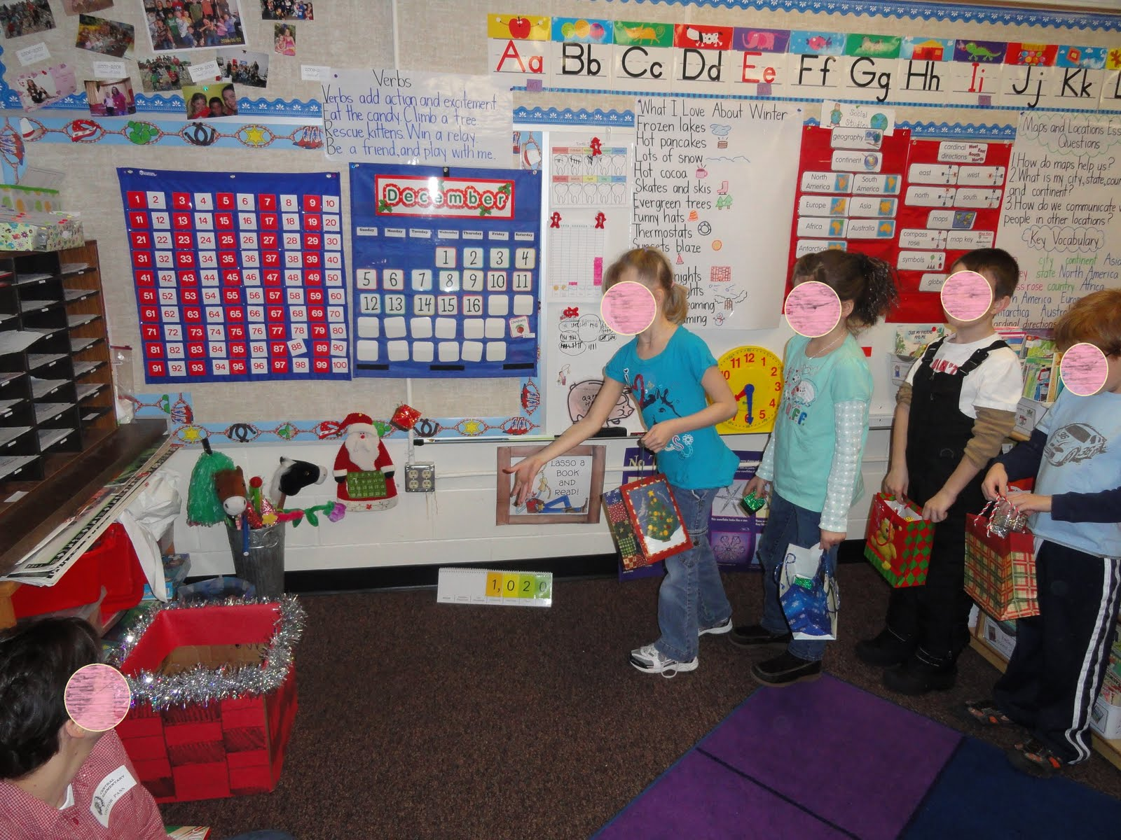 *Bunting, Books, and Bright Ideas*: Christmas Party Ideas
