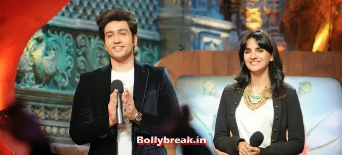 Adhyayan Suman  Shruti Seth, Ariana Ayam for 'Heartless' Promotion on Comedy Circus