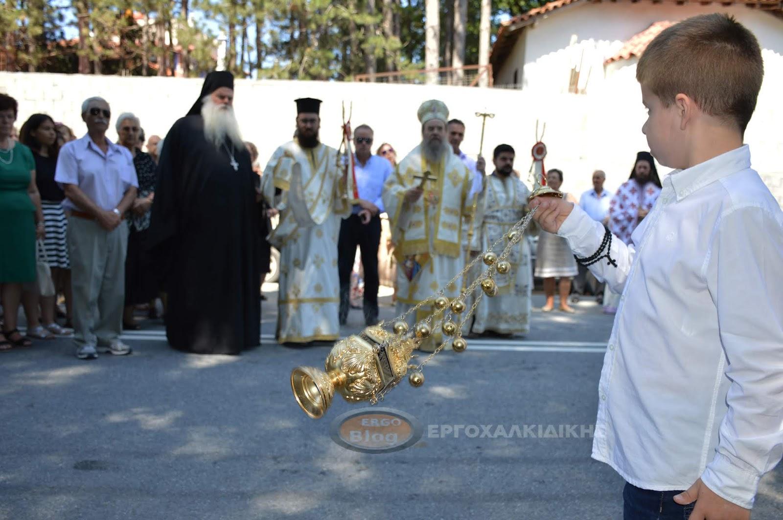 Γιορτή του Αγίου Αθανασίου του Αθωνίτη στο Παλαιοχώρι (φωτο βίντεο)