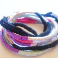 http://cocoatutoriales.blogspot.com.es/2013/08/collar-estilo-etnico-con-hilo-y-cordon.html