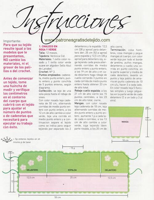 12 Modelos de Ropa para tejer de Bebes y Niños / Paso a paso y ...