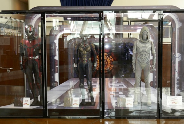 Ant-Man and Wasp movie costume exhibit