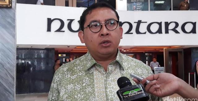 Soal 'Doa yang Ditukar', Fadli Zon Tolak Minta Maaf ke Kiai Maimoen