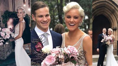 Taya Smith do Hillsong se casa com companheiro de banda (fotos)