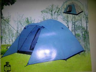 sewa tenda camping jogja, Tenda Great Outdoor Kapasitas 6 orang