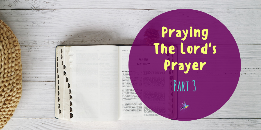 How to make the Lord's prayer part of your daily routine.