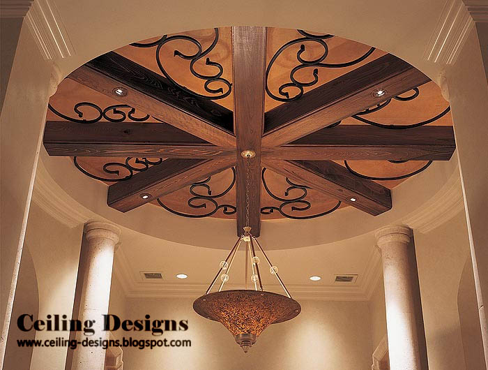 100 Wood Ceiling Panels Ideas