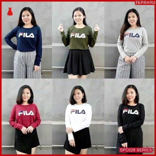 SCP028F45 Fila Kaos Panjang Lengan Atasan Wanita | BMGShop