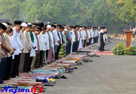 Bacaan Niat Dan Tata Cara Sholat Idul Fitri
