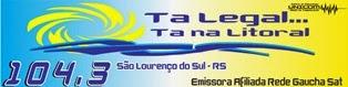 Rádio Litoral FM de São Lourenço do Sul RS ao vivo