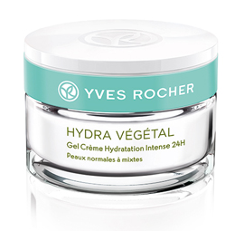 Yves rocher hydra vegetal 24 saat derinlemesine nemlendiren krem
