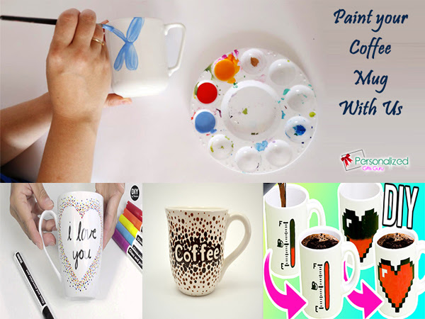 How to Paint Your Coffee Mug In Just Five Minutes