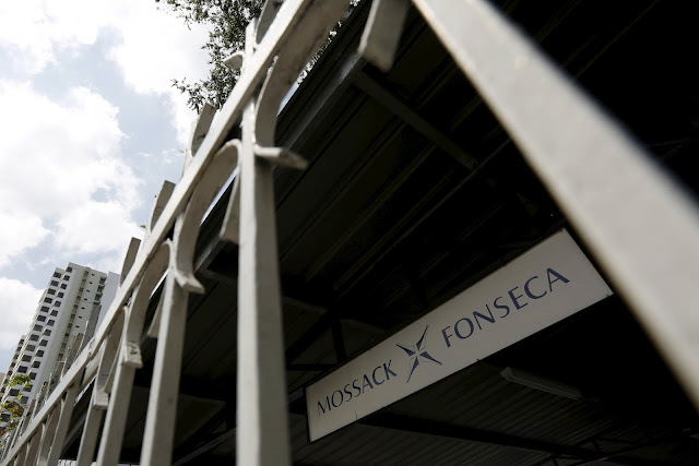 Mossack Fonseca law firm sign is pictured in Panama City, April 4, 2016. REUTERS/Carlos Jasso