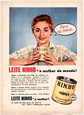 Resultado de imagem para anuncio lançamento do leite ninho