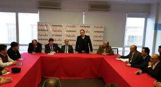 Los jefes comunales de la provincia de Buenos Aires vaciaron el encuentro realizado en la tarde de este martes en el tercer piso de la sede del Comité Nacional, ubicada en Alsina casi Entre Ríos.