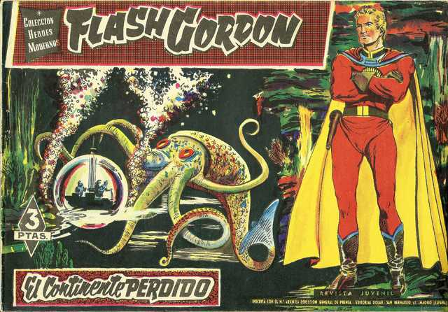 Flash Gordon [01-70]  Dan Barry -  Editorial Dolar