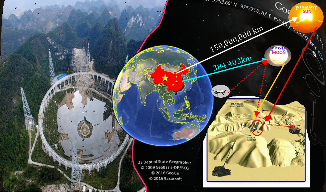 Cambodia military science china completed fast radio telescope and ranging for at 02 wars times day time and night time sun radio is for radar system in day time combat while the moon radio is for night time gumiabroncs Gallery