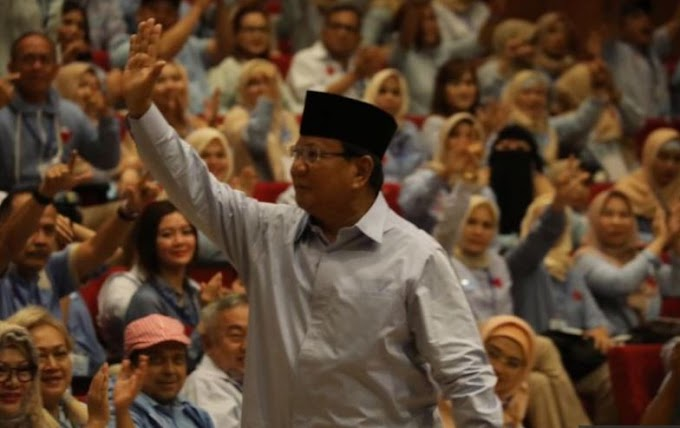 Prabowo: Rakyat Sudah Cerdas, Tak Bisa Dibohongi Lagi oleh Para Elite