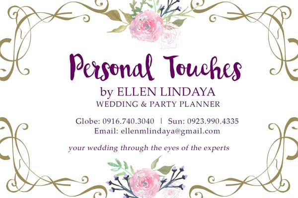 professional wedding planner - Bacolod wedding suppliers