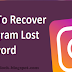 How to Get Your Password from Instagram