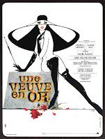 affiche du film de Michel Audiard UNE VEUVE EN OR avec Michèle Mercier et Claude Rich