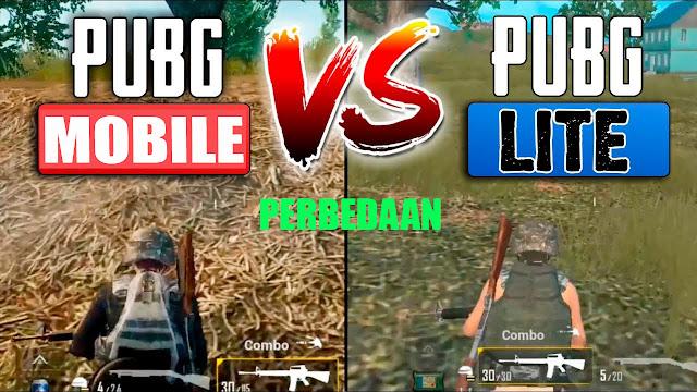 Perbedaan PUBG Mobile dan PUBG Lite