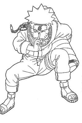 Komik Naruto bisa mewarnai latahian menggambar untuk anak SD