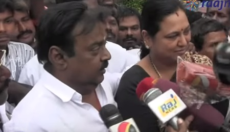 Vijayakanth inspection at pallikaranai lake