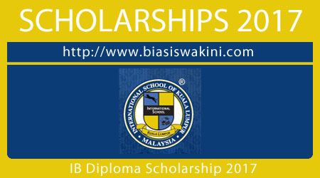 International Baccaulaureate Diploma Scholarship 2017