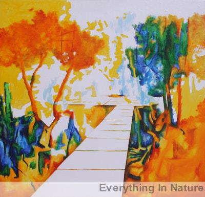 painting- everything in nature alamelu