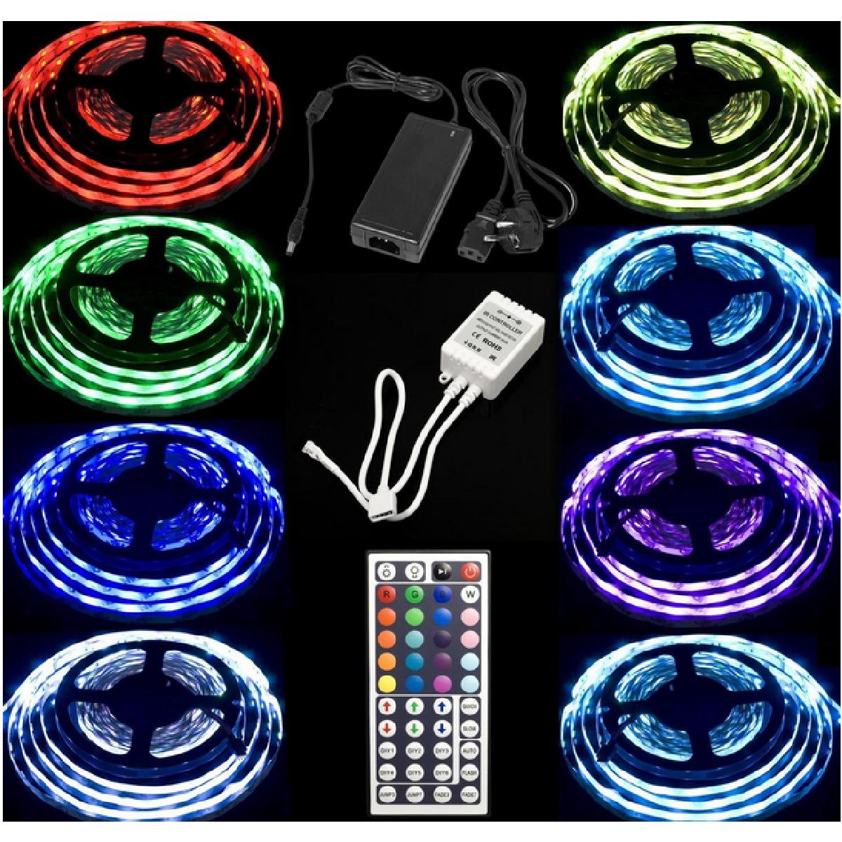 Un ruban de 300 LEDS pour décorer votre salon.