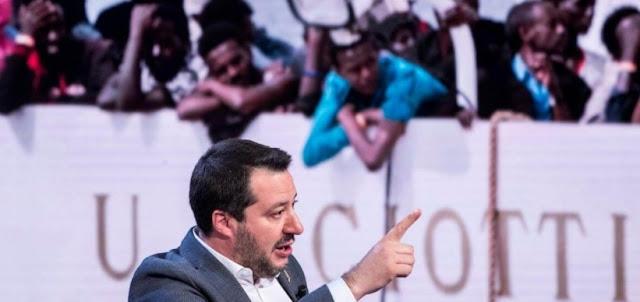سالفيني وزير الداخلية الإيطالي ينجو من اقتراع بمنح الاذن للقضاء بالتحقيق في قضية سفينة مهاجرين